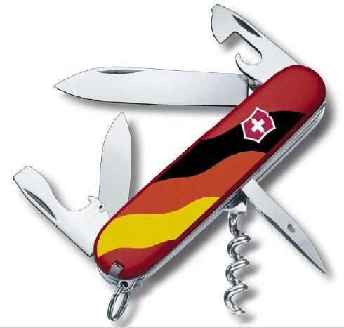 Victorinox Spartan Germany rot