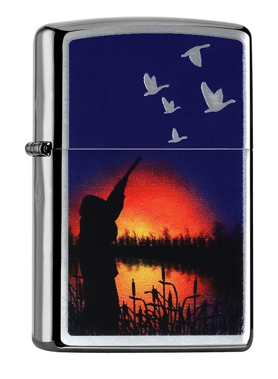 Zippo Duck Hunter Night, Duck Hunting